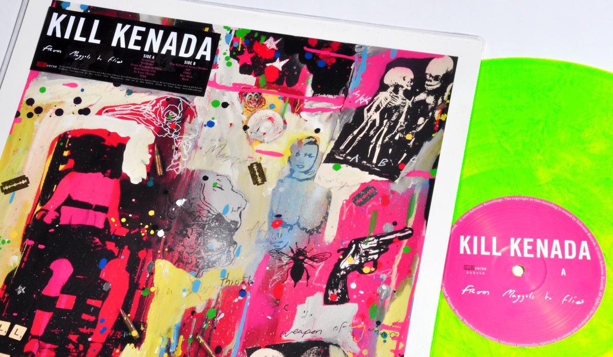 Kill Kenada 'From Maggots to Flies' LP