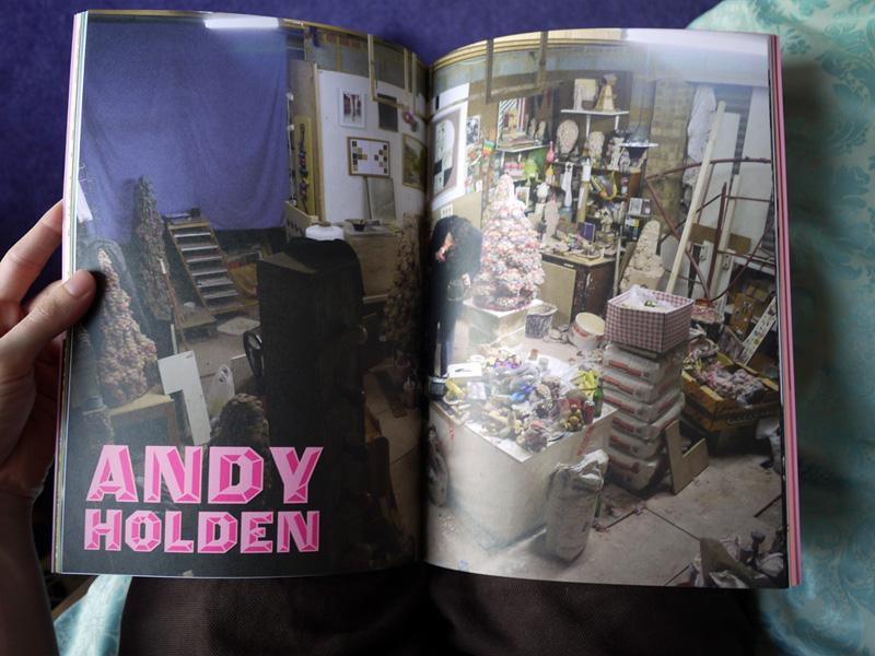 Versus - Andy Holden spread