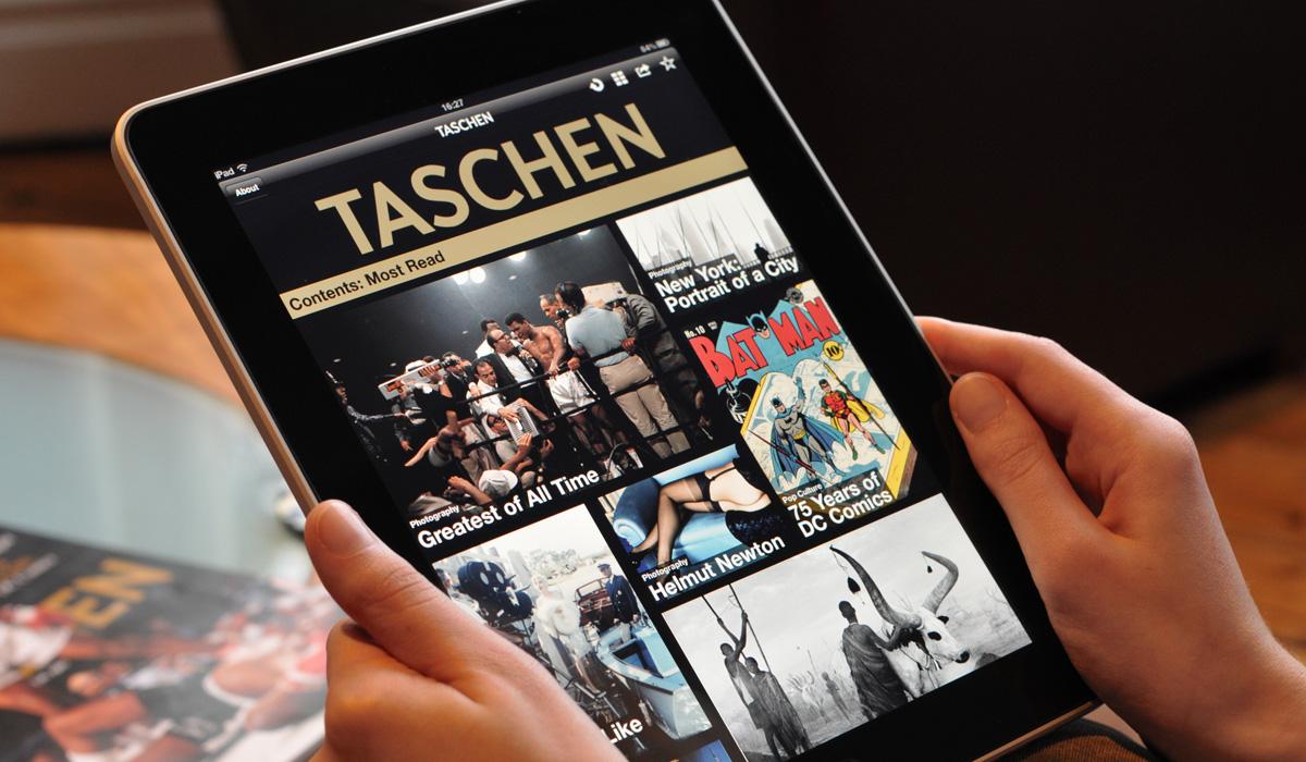 D&AD: Taschen iPad App