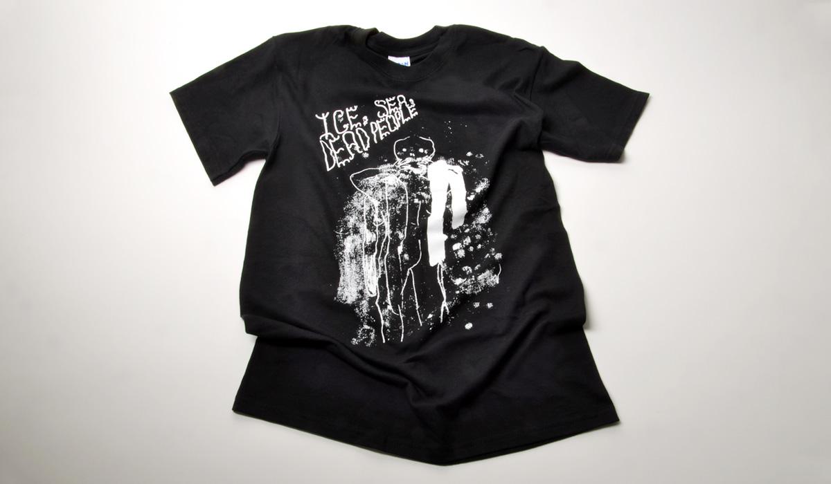 Ice, Sea, Dead People 'Figure T-Shirt'