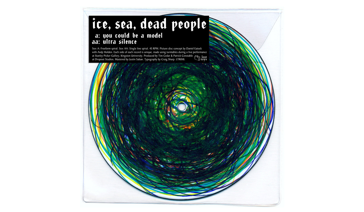 Ice, Sea, Dead People 'You Could Be A Model' (collaboration with Andy Holden and Daniel Eatock)